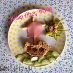 Bento boterham inspiratie schip ahoy 1 I Creatief lifestyle blog Badschuim
