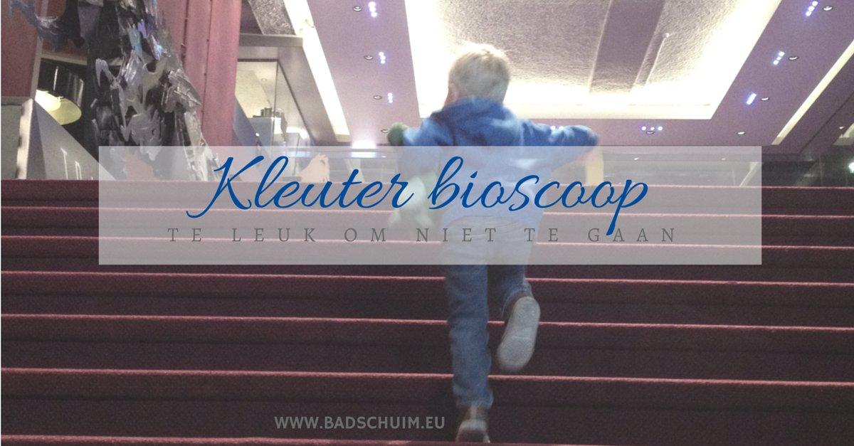 Kleuter bioscoop I recensie van Creatief Lifestyle blog Badschuim