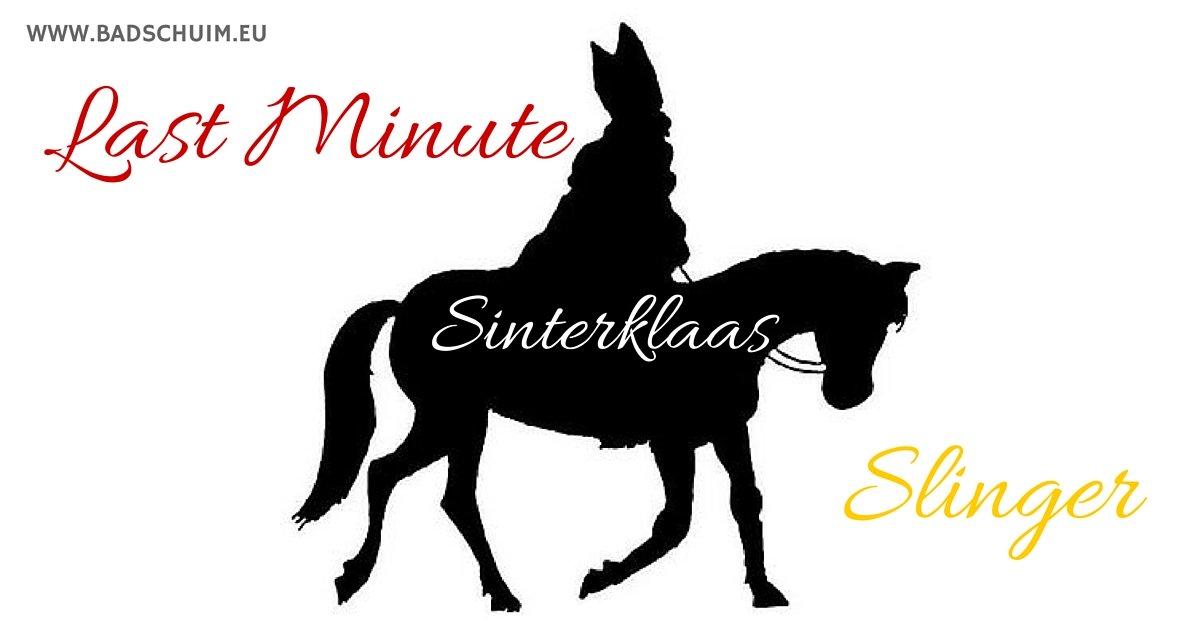 Sinterklaas Slinger - gratis te downloaden op www.badschuim.eu