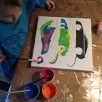 Porsche schilderij_