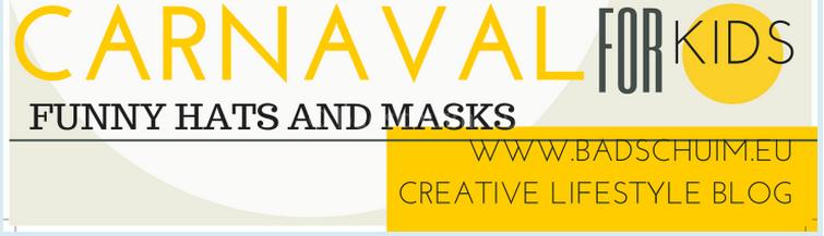 Carnaval hoedjes en maskers