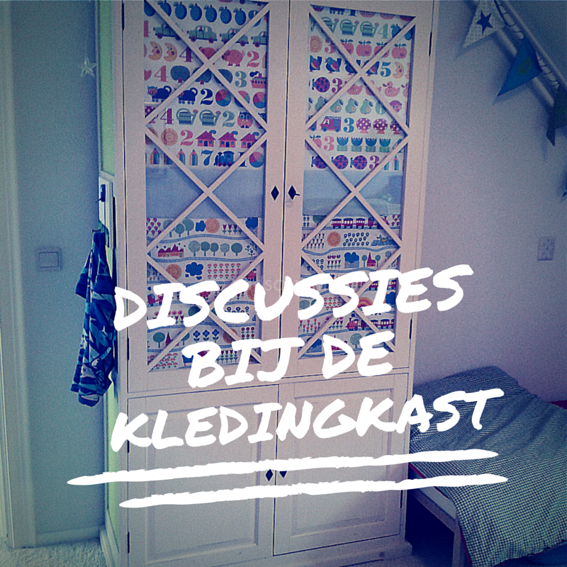 Kledingkast discussie