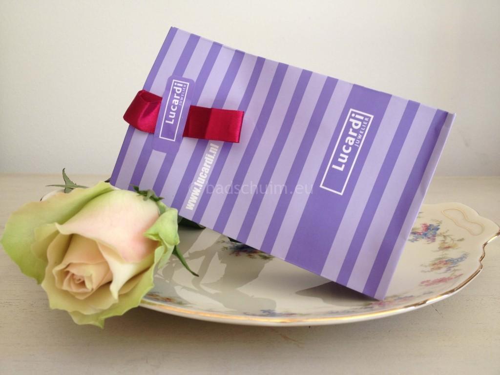 Moederdag verwendag ring Lucardi verpakking ring moederdag I Creatief Lifestyle blog Badschuim