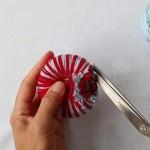 Balletjesvanger maken stap 3 I DIY door Piece-of-Make samenwerking blog Badschuim