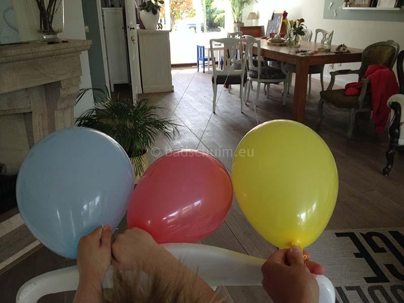 Ballon race 01 I Creatief Lifestyle blog Badschuim