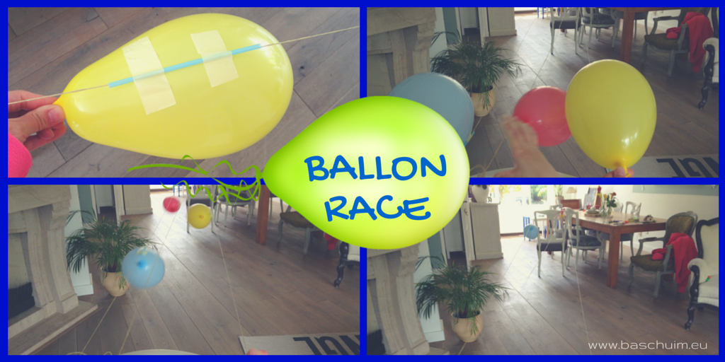 Ballon race I Creatief Lifestyle blog Badschuim