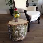 Boomstam tafel zelf maken - het eindresultaat I Creatief lifestyle blog Badschuim