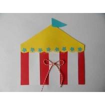 Hippe traktaties uitnodiging circus I Creatief Lifestyle blog Badschuim