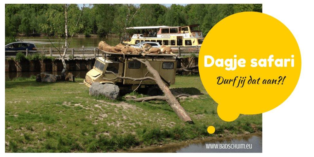 Dagje safari I Creatief Lifestyle blog Badschuim