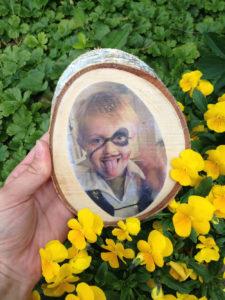 foto op hout maken, foto op hout DIY, zelf een foto op hout maken, foto op hout,