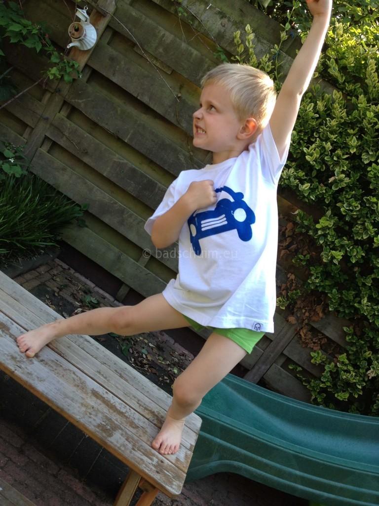 Handmade hip - coole kids shirts I Review by creatief lifestyle blog Badschuim