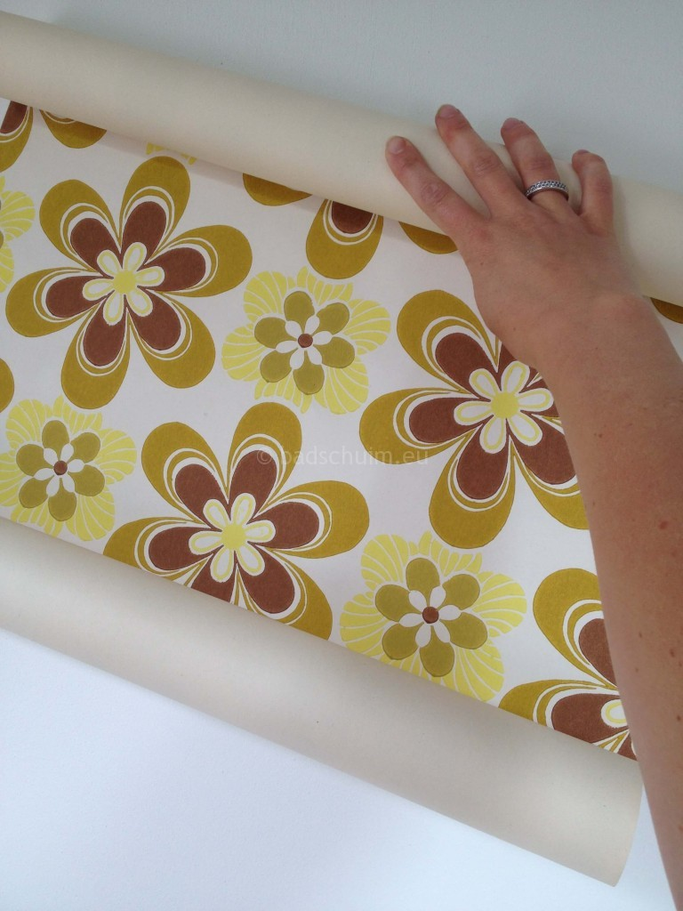 Pimp je kastje met behang van Funky Walls I DIY gemaakt door creatief lifestyle blog Badschuim