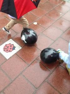 Piratenspeurtocht kinderfeestje De knallende kanonskogel 01 I Creatief lifestyle blog Badschuim