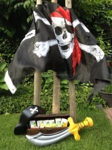 Piratenspeurtocht kinderfeestje SCHAT ZOEKEN 01 I Creatief lifestyle blog Badschuim