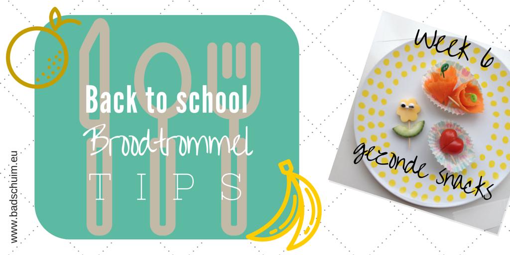 broodtrommel tips wk 6 - gezonde snacks I gemaakt door het creatief lifestyle blog Badschuim