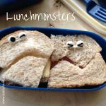 Broodtrommel tips wk 1 - lunchmonsters met bento prikkers I gemaakt door het creatief lifestyle blog Badschuim