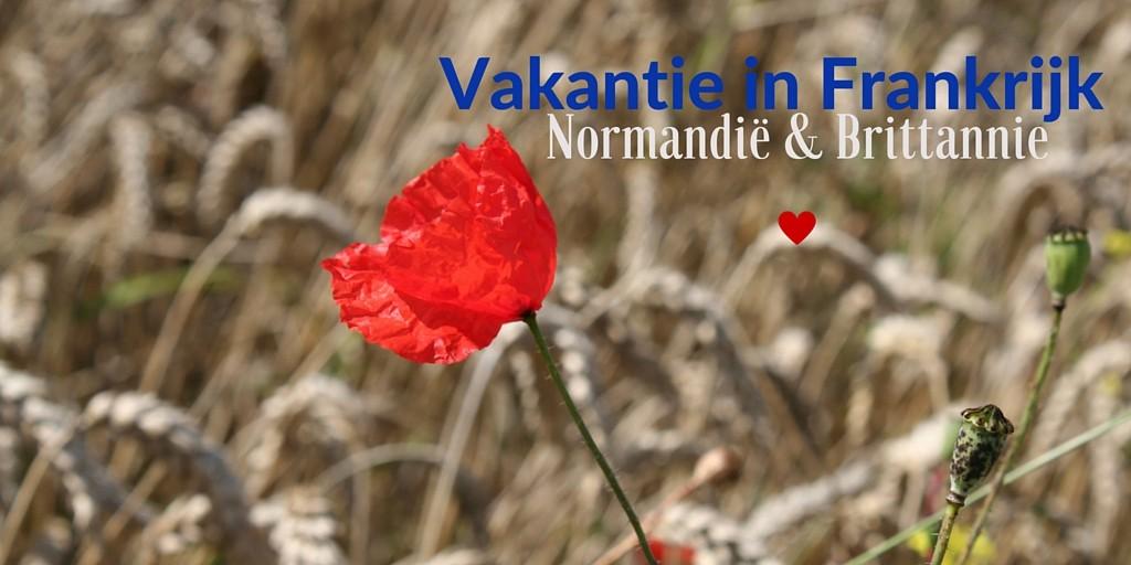 Vakantie in Frankrijk Normandie en Brittannie I een vakantieverslag van creatief lifestyle blog Badschuim