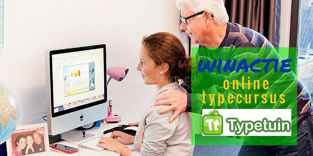 Winactie online typecursus typetuin te winnen bij creatief lifestyle blog Badschuim