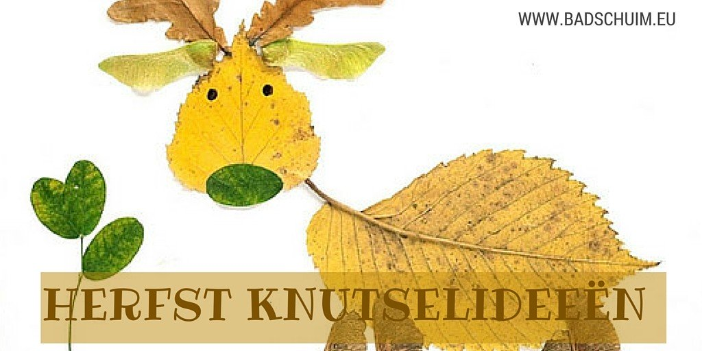 herfst knutselideeen Ite vinden op het creatief lifestyle blog Badschuim