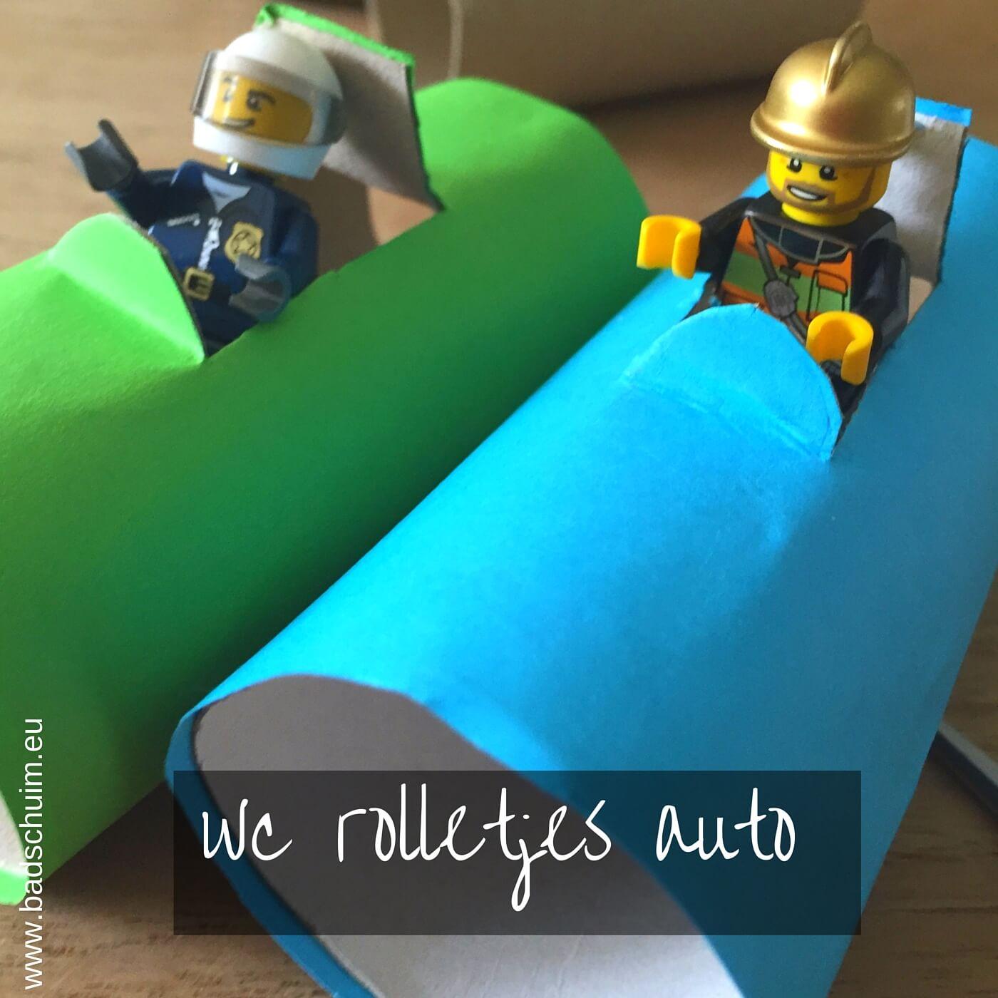 Wc rolletjes auto I gemaakt door het creatief lifestyle blog Badschuim