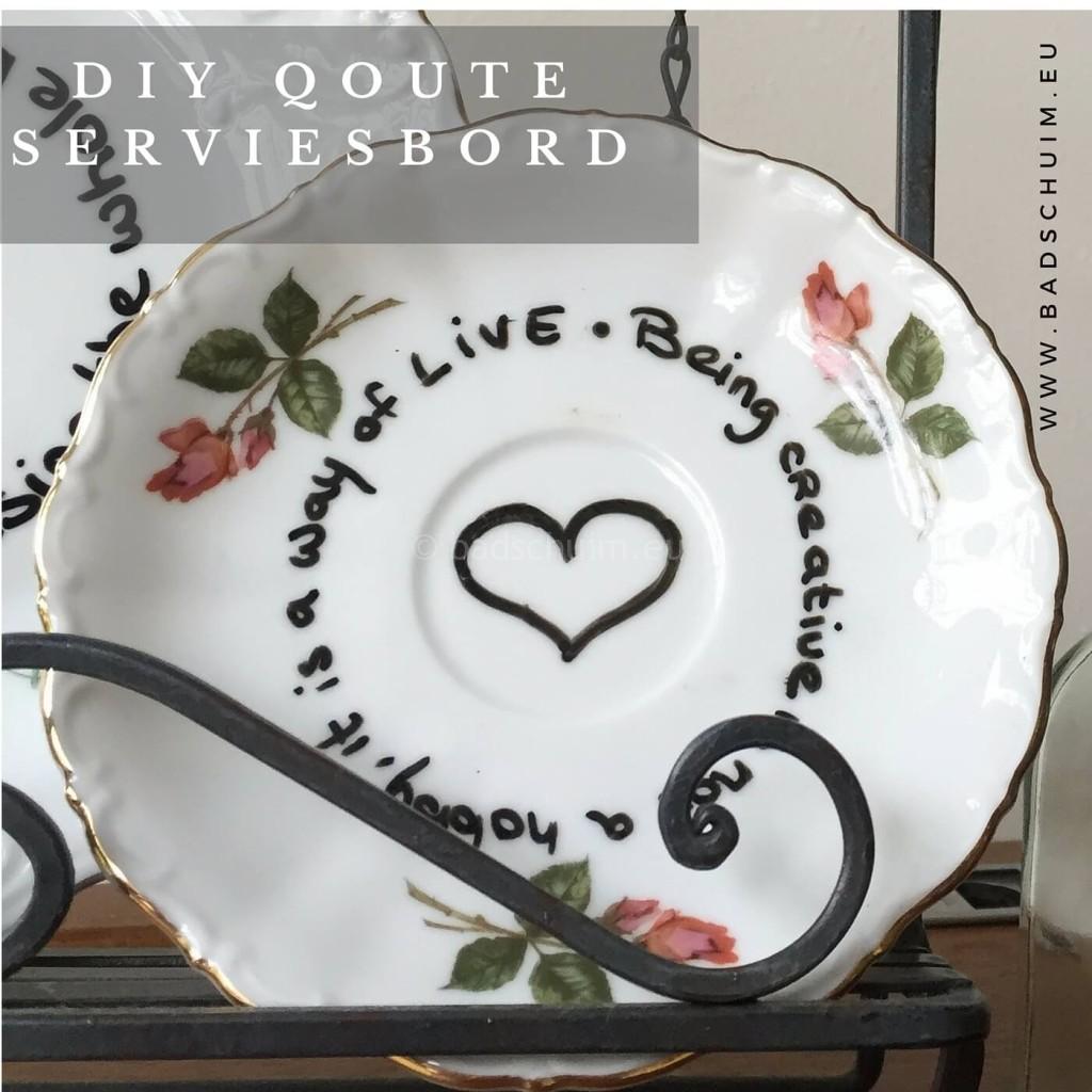 DIY Quote servies bord I resultaat closeup 2 I gemaakt door het creatief lifestyle blog (2)