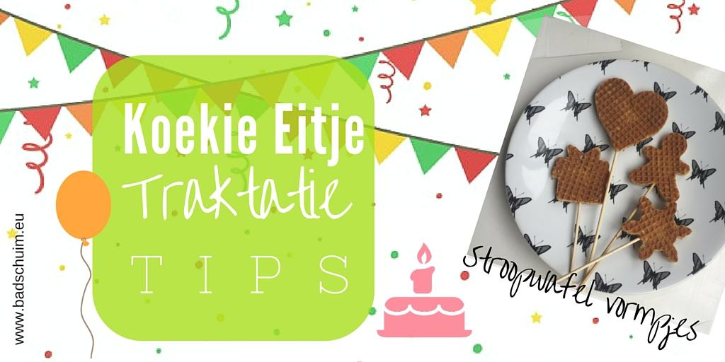 Stroopwafel vormpjes - Koekie eitje traktatie tips I te vinden op creatief lifestyle blog Badschuim