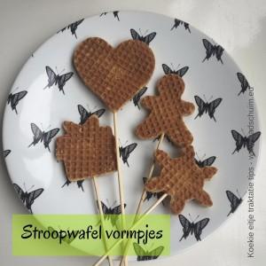 Stroopwafel wormpjes - Koekie eitje traktatie tips I gemaakt door het creatief lifestyle blog Badschuim