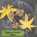 Vogelvoer hangers maken - resultaar 01 - Bloggers DIY Countdown kerst editie I gemaakt door het creatief lifestyle blog www.badschuim.eu