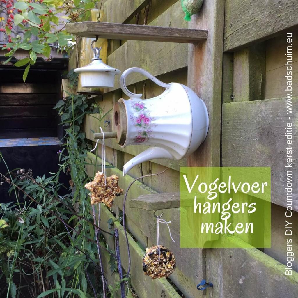 Vogelvoer hangers maken - resultaar 02 - Bloggers DIY Countdown kerst editie I gemaakt door het creatief lifestyle blog www.badschuim.eu