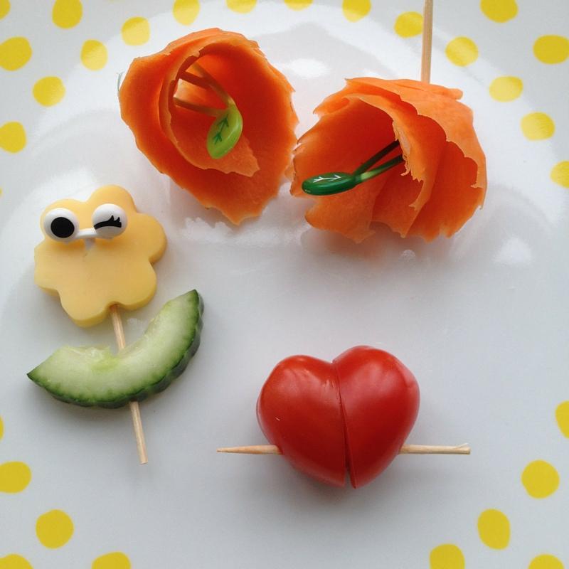 gezonde kinderhapjes groente snacks