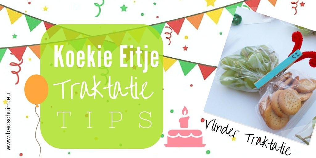 Koekie eitje traktatie tips - vlinder traktatie I te vinden op creatief lifestyle blog Badschuim