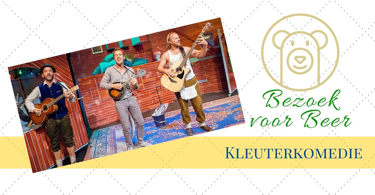 Bezoek voor Beer - kleuterkomedie recensie door het creatief lifestyle blog www.badschuim.eu