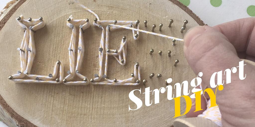 String art, kunst met draad, is een nieuwe trend die razend populair is bij interieur fans over de hele wereld. Je maakt het heel gemakkelijk zelf met dit stappenplan! #draadfiguren #stringart