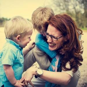 Marieke maakte een drollen traktatie voor de verjaardag van haar oudste zoon.