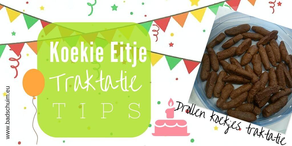 Trakteer eens op een drol! Een vieze, stoere maar zoete traktatie van koekdeeg. Durf jij het aan om deze drollen koekjes traktatie te maken: klik dan door!
