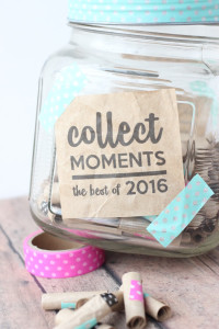 4 ideetjes om herinneringen te maken en bewaren