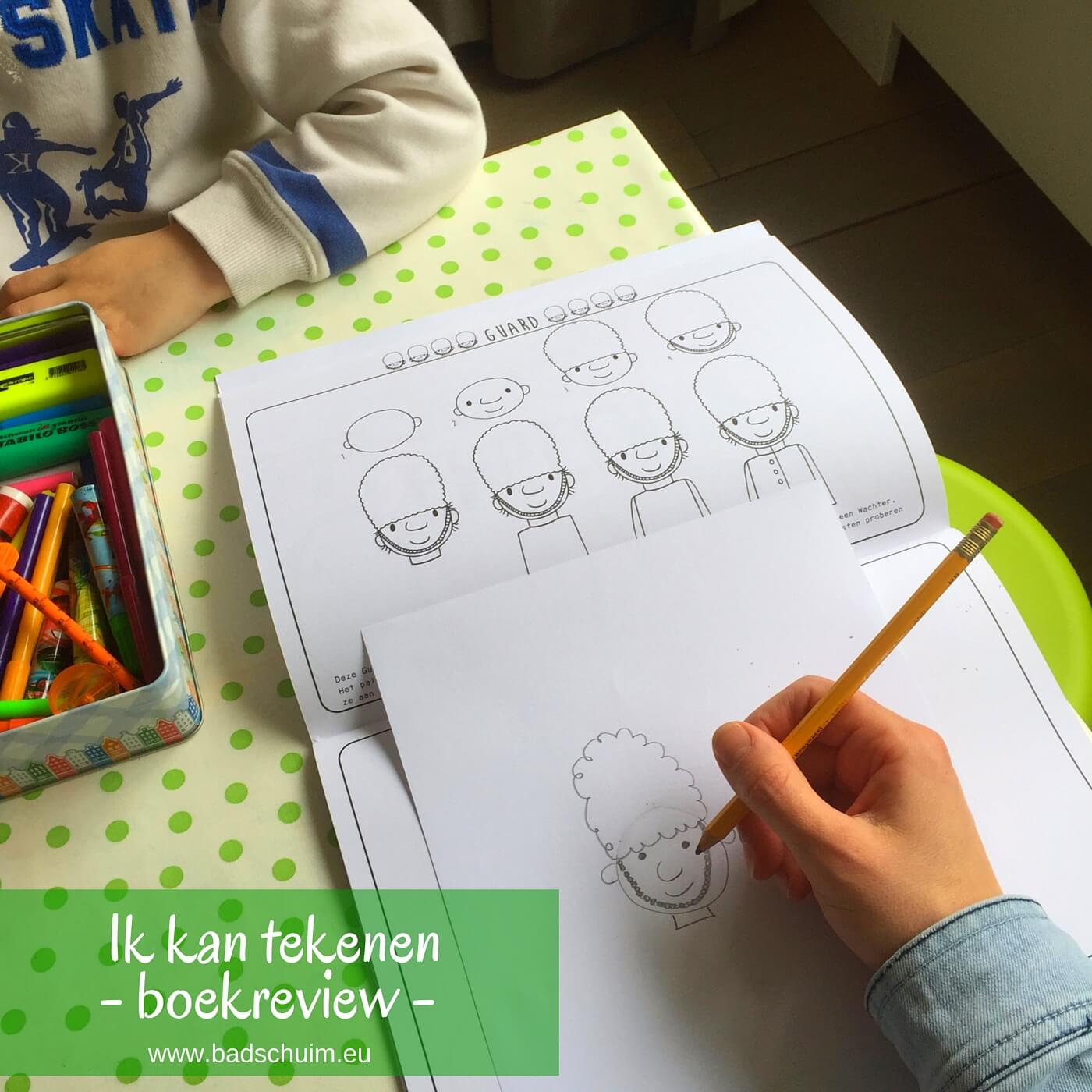 Iedereen kan tekenen!Met de 'Ik kan tekenen' doeboeken leer je het stap voor stap. Dat lijkt gemakkelijk & is het ook!Lees onze review van het vakantieboek!