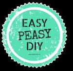 Dit is een Easy Peasy DIY!