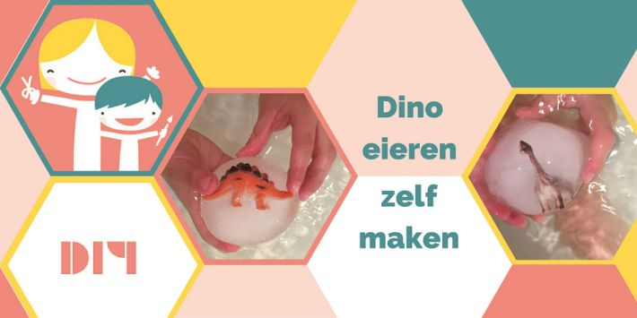 Een leuk ontdek projectje die je heel eenvoudig zelf maakt en ook nog eens heel gaaf is voor jouw kids: dino eieren zelf maken!