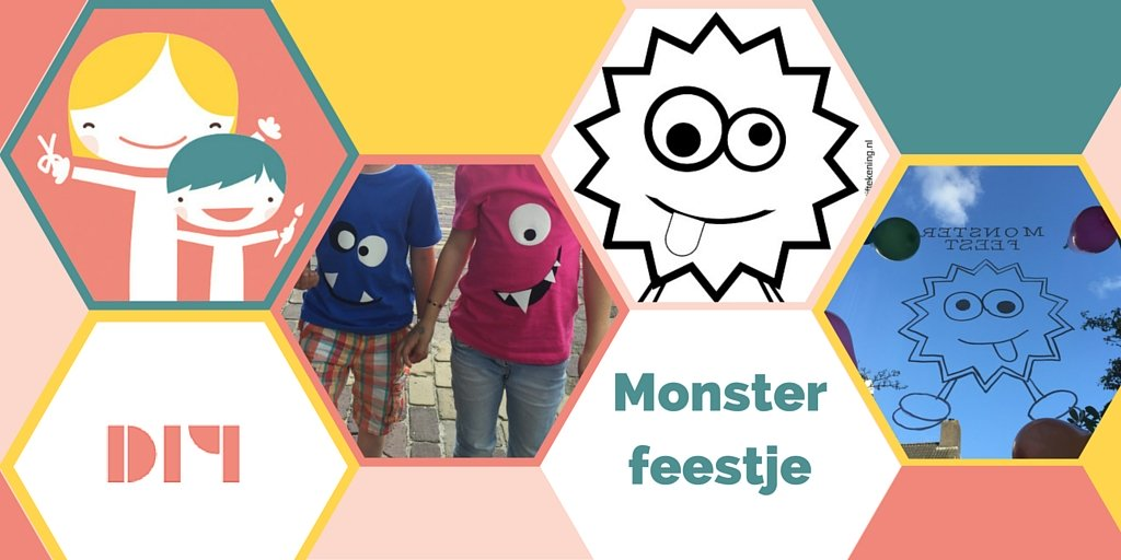 monster feest, kinderfeest monsters,