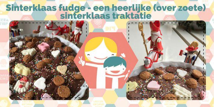 Sinterklaas fudge - sinterklaas traktatie