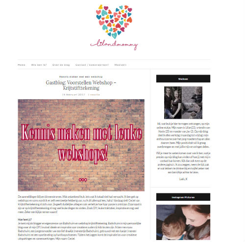 Lil and mommy_blog over webshop krijtstifttekeningen_2017-02-15_web