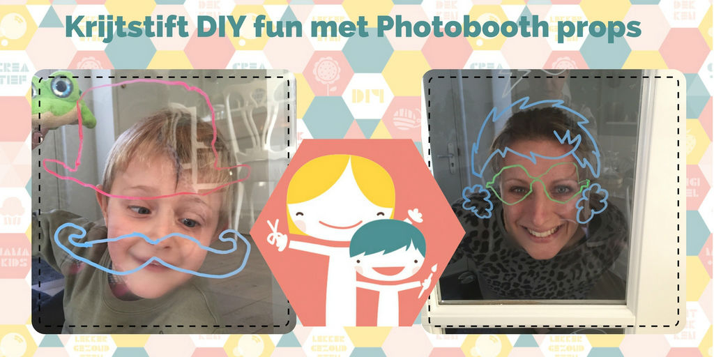 Photobooth props DIY - photobooth zelf maken