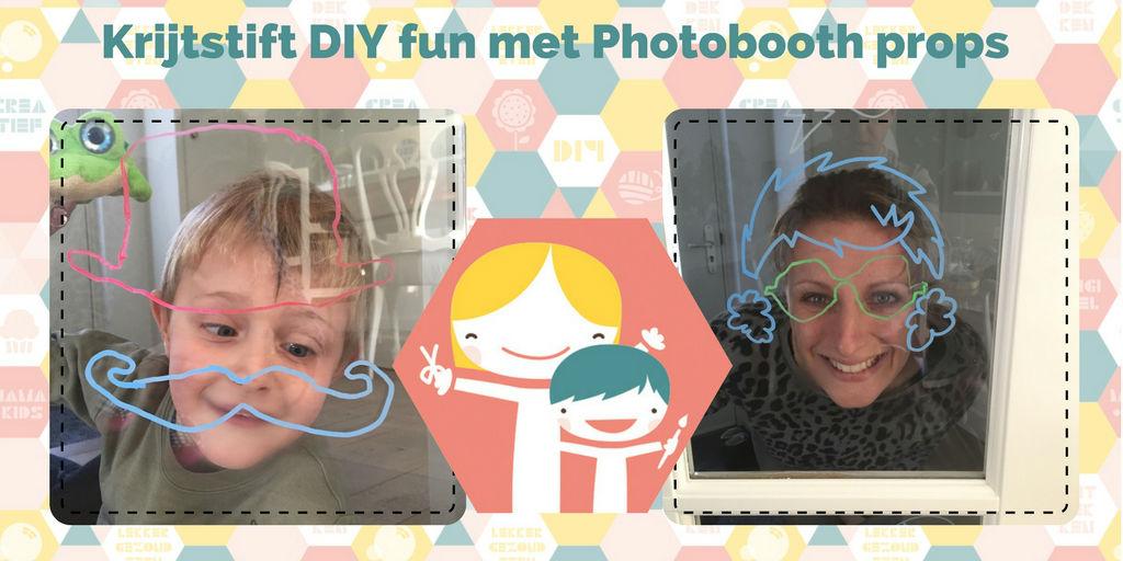Photobooth props DIY - photobooth zelf maken