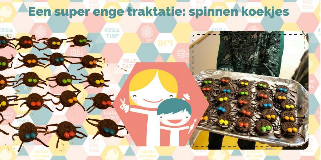Oreo spinnen traktatie - Super enge spinnenkoekjes trakteren Smarties Kopen