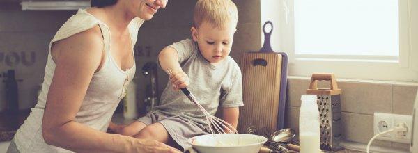 Kinderen laten helpen in huis