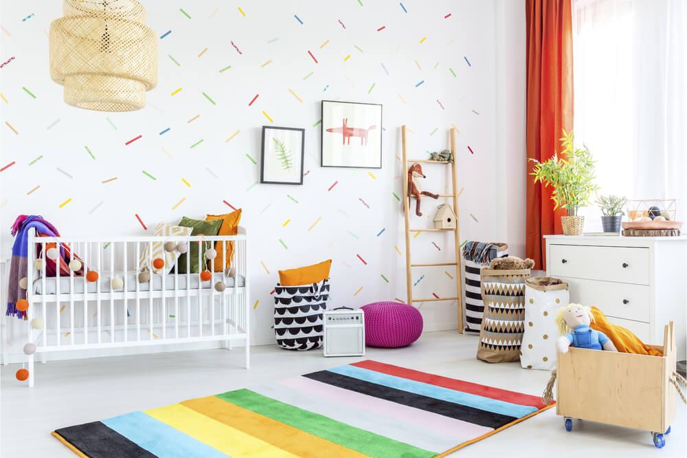 5x leuk kinderbehang voor in de slaapkamer • Badschuim