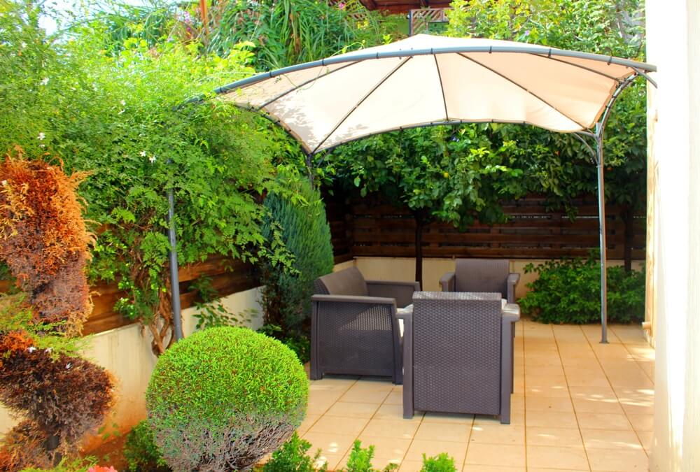 Zonnescherm of parasol